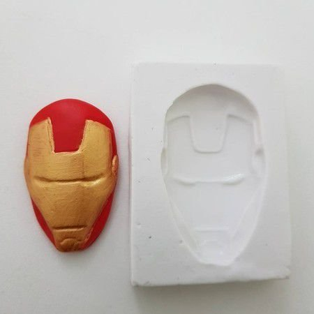 Molde rosto de Homem de Ferro Imp 1012