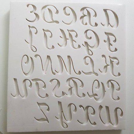 Molde Alfabeto 1051