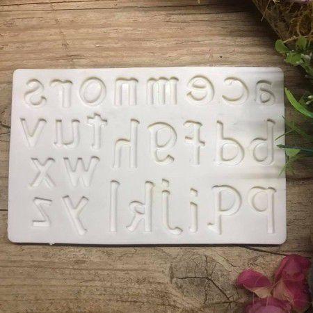 Molde Alfabeto Minusculo 1509