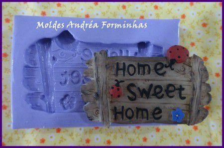 Molde Placa Home Sweet Home 1567