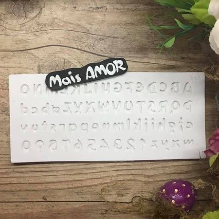Molde Mini Alfabeto 1615