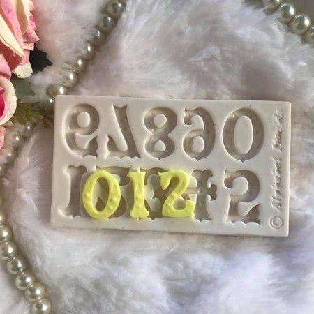 Molde Números 1854