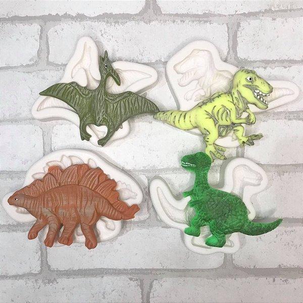 Kit de Moldes Dinossauros 2196/2188/2199/2200