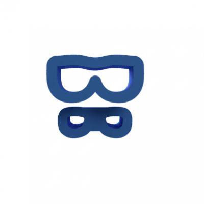Kit Oculos Modulares (3 tamanhos)