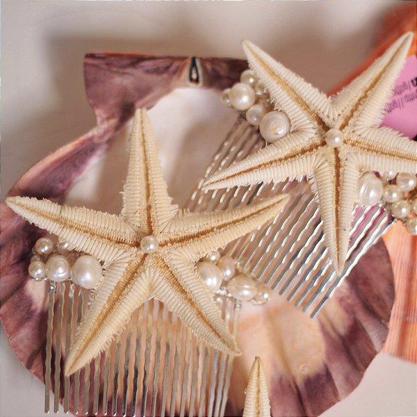 Pente de Estrela do Mar e Pérolas