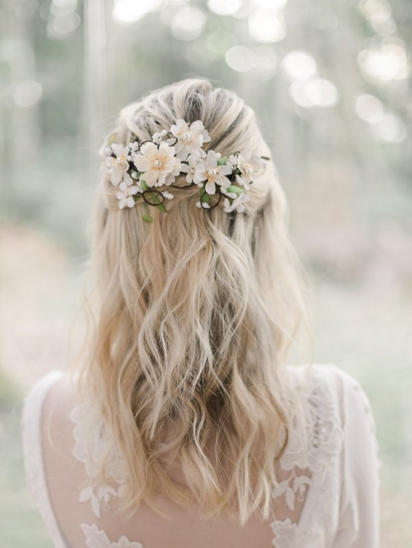 Arranjo de Flores Florenza Off White