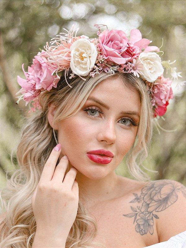Tiara de Flores Afrodite