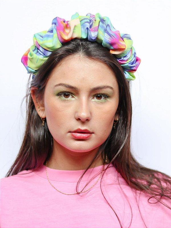 Tiara Scrunchie Tie Dye Colors