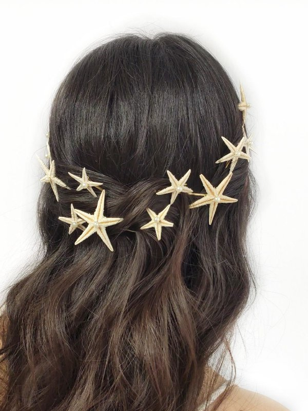 Conjunto Grampo Estrela do Mar Mini