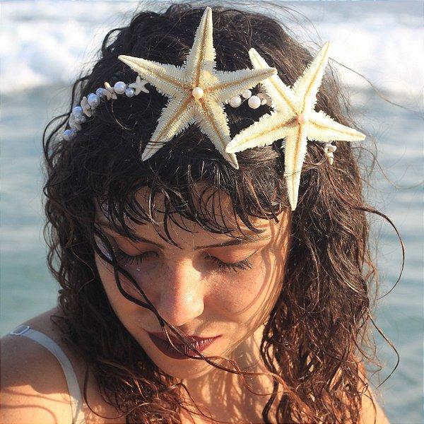 Tiara de Sereia Estrela do Mar