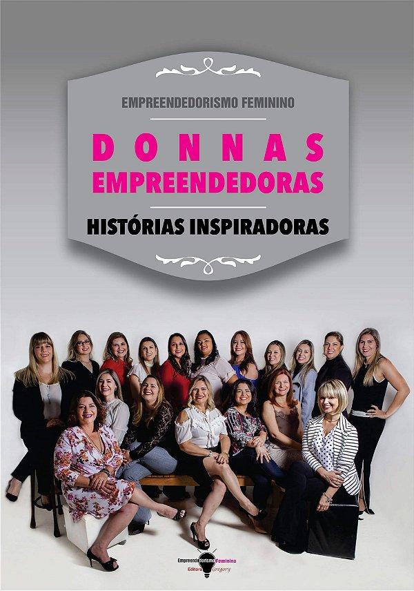 LIVRO DONNAS EMPREENDEDORAS, HISTÓRIAS INSPIRADORAS