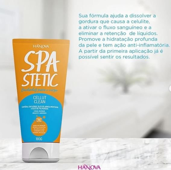 CREME SPA STETIC CELLUT CLEAN 180G