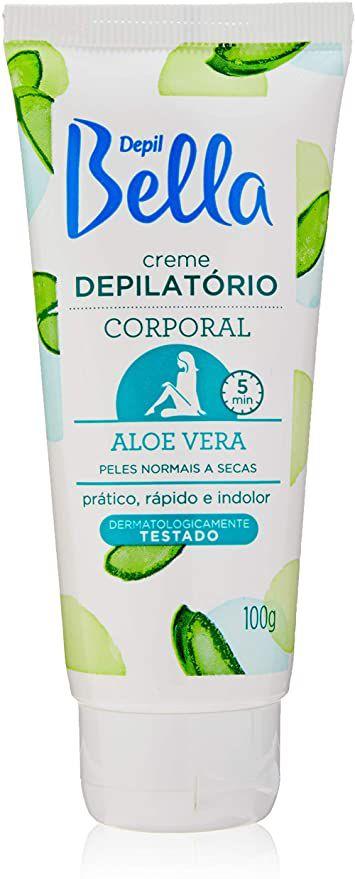 CREME DEPILATÓRIO CORPORAL DEPIL BELLA ALOE VERA 100G