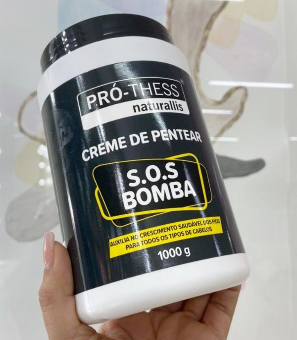 POTE CREME DE PENTEAR SOS BOMBA PRÓ THESS 1KG