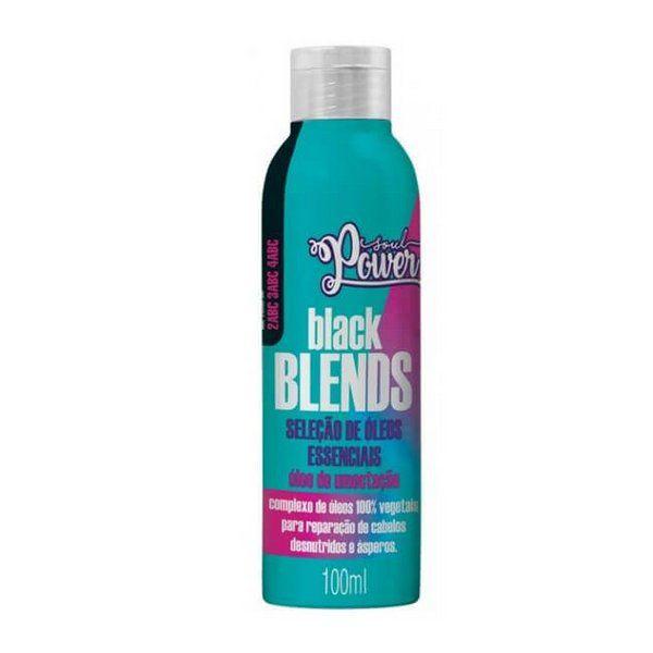 ÓLEO DE UMECTAÇÃO BLACK BLENDS 100ML - SOUL POWER