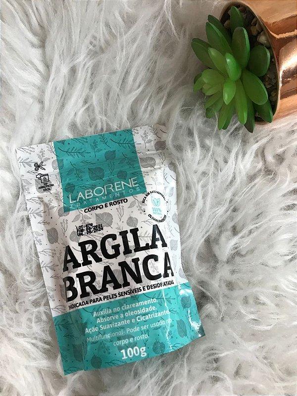 ARGILA BRANCA 100G LABORENE