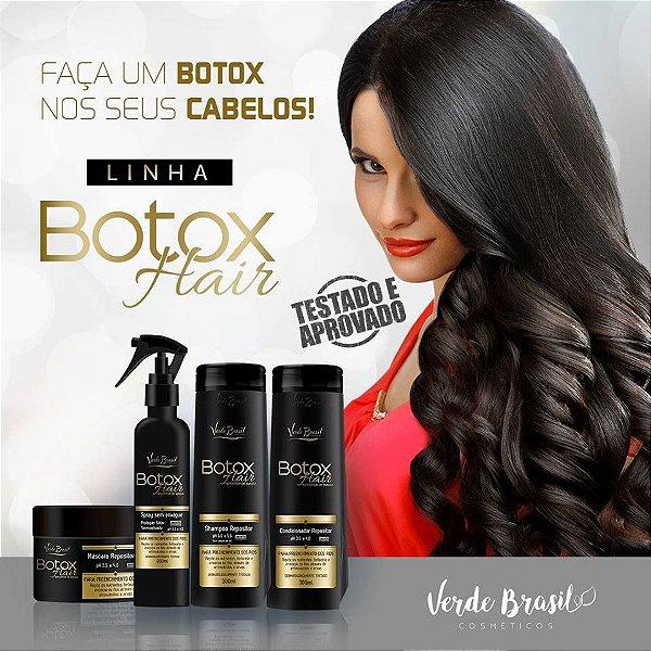 LINHA BOTOX HAIR VERDE BRASIL