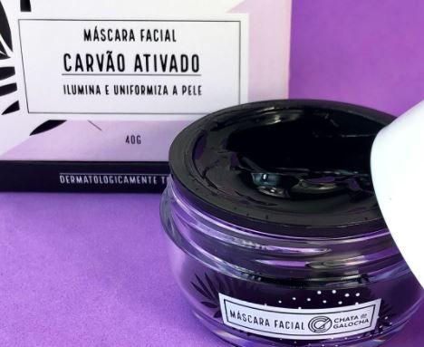 MASCARA FACIAL CARVAO ATIVADO