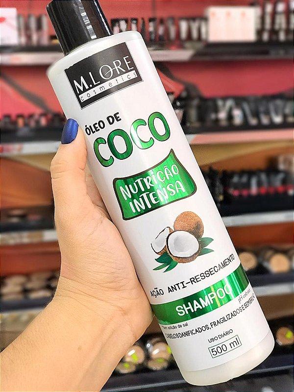 SHAMPOO ÓLEO DE COCO NUTRIÇÃO INTENSA