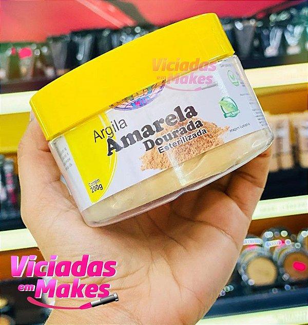 ARGILA AMARELA DOURADA ESTERILIZADA 200G