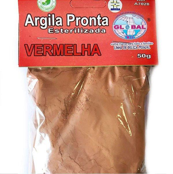 ARGILA VERMELHA SACHÊ 50G