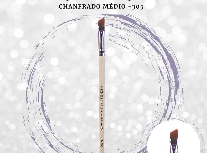 PINCEL CHANFRADO PARA SOBRANCELHAS M305