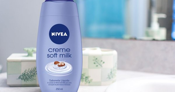 SABONETE CREME SOFT MILK NIVEA 250ML