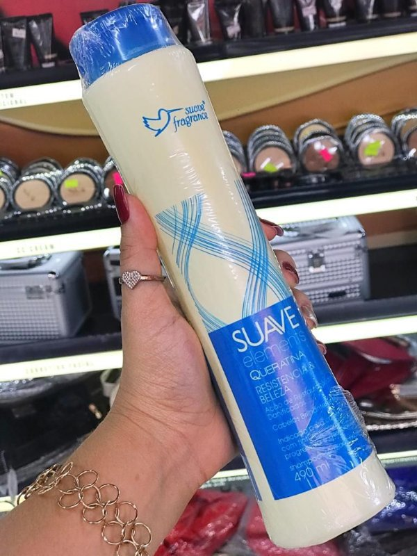 SHAMPOO SUAVE ELEMENTS QUERATINA