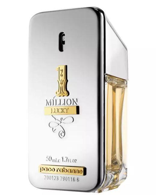1 Million Lucky Paco Rabanne Eau de Toilette - Perfume Masculino 50ml