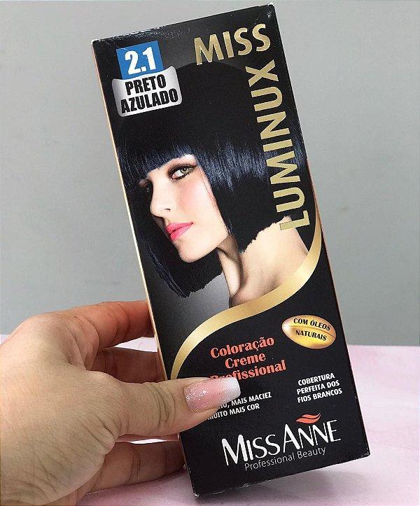 MISS ANE  2.1 PRETO AZULADO