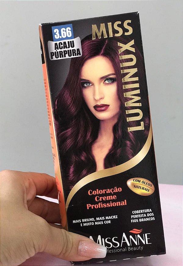 TINTURA MISS ANNE LUMINUX ACAJU PURPURA 3.66