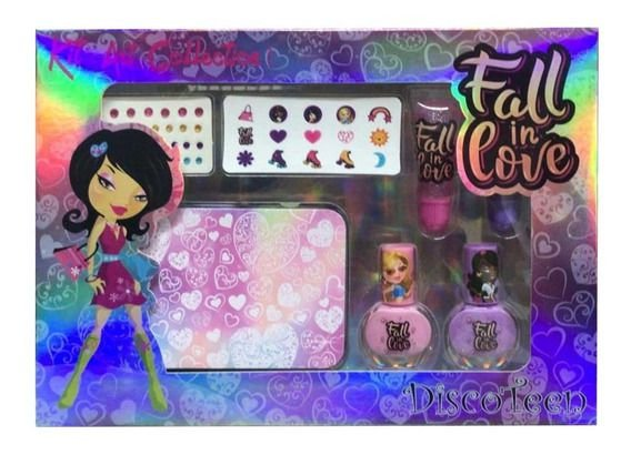 KIT ART COLECTION FALL IN LOVE DISCOTEEN