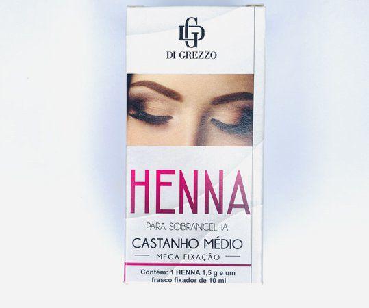 HENNA DI GREZZO CASTANHO MÉDIO
