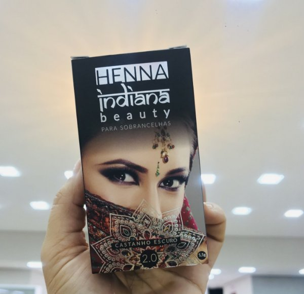 Henna Indiana Castanho Escuro