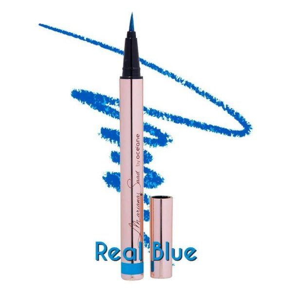 CANETA DELINEADORA REAL BLUE MARIANA SAAD