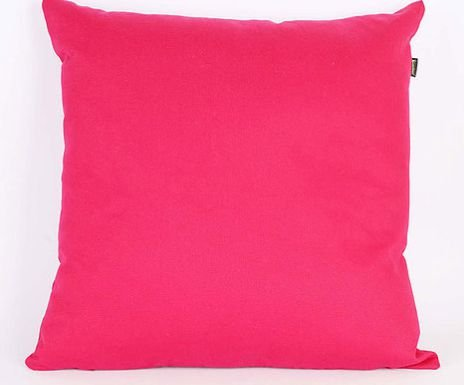 Capa de Almofada Sarja Lisa Pink- 45 x 45 cm