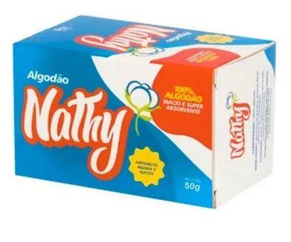 Nathy Algodão Hidrofilo 50g