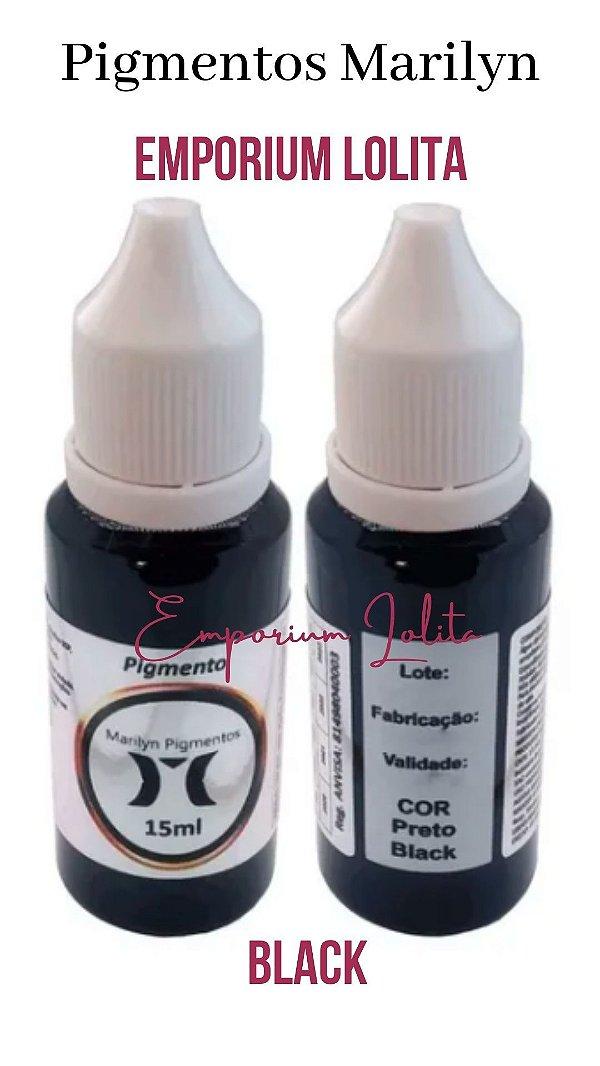 Pigmento para Micropigmentação Marylin 15ml Black