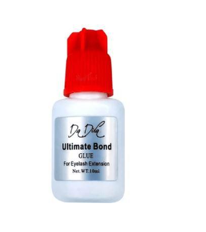 Cola Cilios Premium Ultimate Bond Da Diva Extensão 10ml Prata