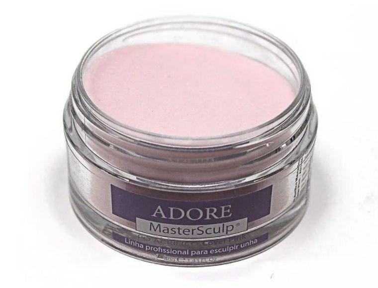Adore Mastersculp Pó Acrílico Linha Profissional Pra Esculpir Unhas 40g - Cover Pink