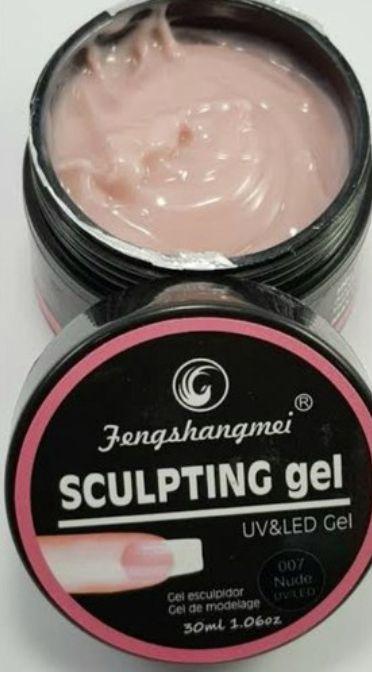 Gel Sculpting 15ml Pretinho do Poder #7 - Fengshangmei Embalagem Preta