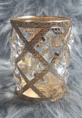 Porta Pincel Crystal Luxuoso