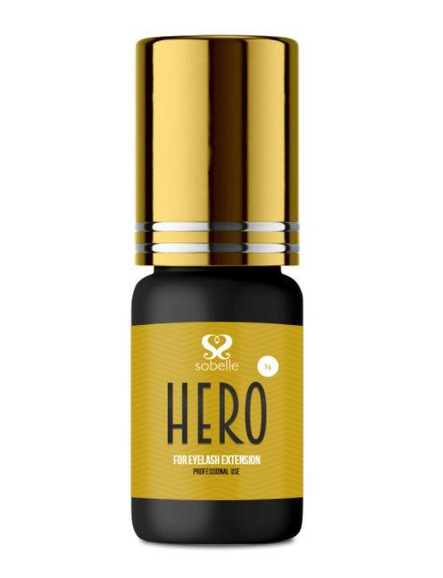Cola Para Alongamento De Cílios Sobelle Hero 3ml Extensão de Cílios