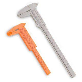 Kit com 2 Paquímetros para Design de Sobrancelhas 8cm 15cm