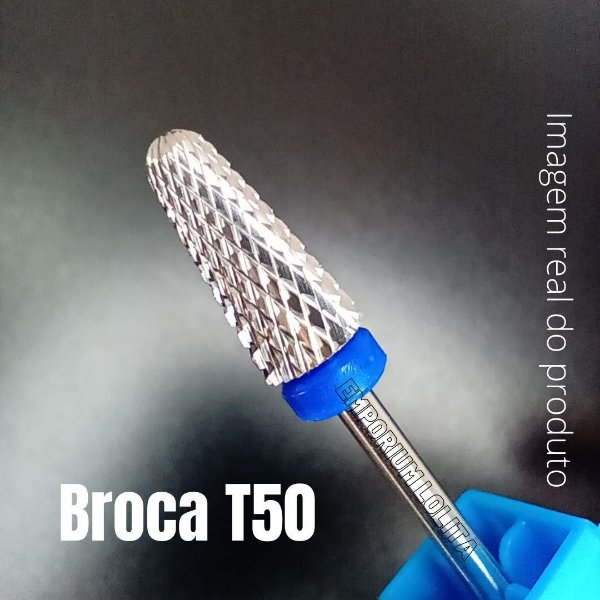 Broca Tungstênio T50 Para Unhas Manicures Nail's Designer