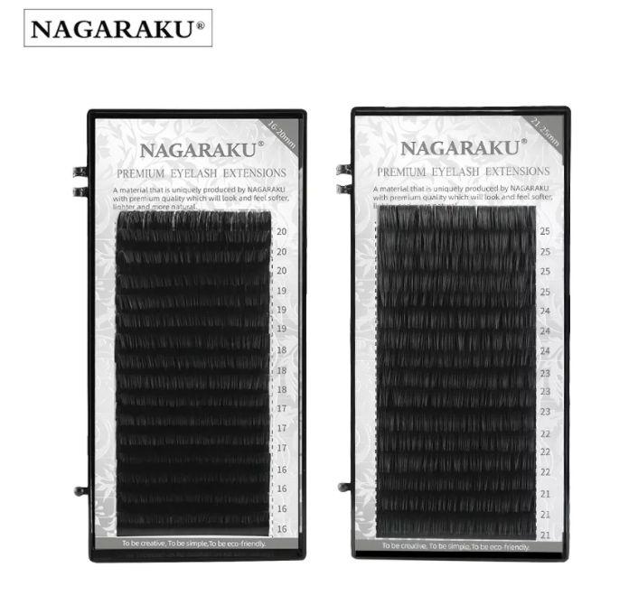 Cílios Fio a Fio Para Extenção Nagaraku Premium 0.15D Mix