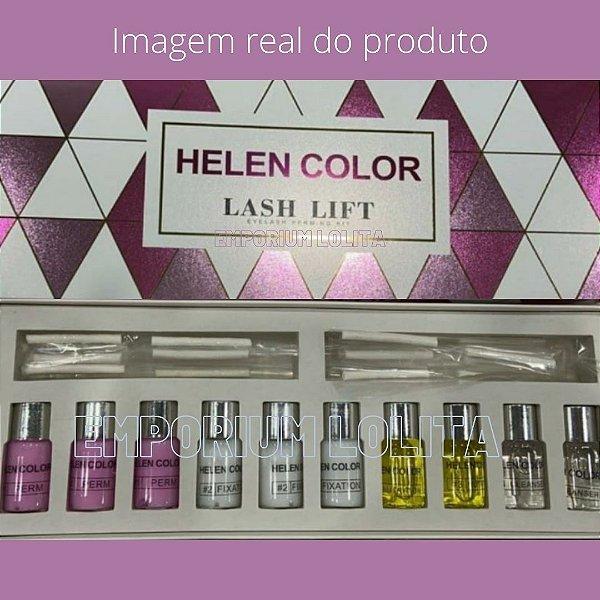 Kit Lash Lifting Permanente Cílios Helen Color