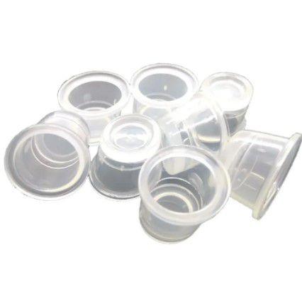 Batoque Transparente  c/ 100 unidades Sobelle
