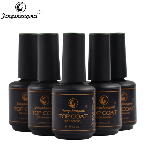 Top Coat de Unha Gel Porcelana Acrigel - Fengshangmei