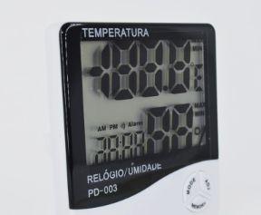 Termo-higrômetro Digital Termômetro E Higrômetro